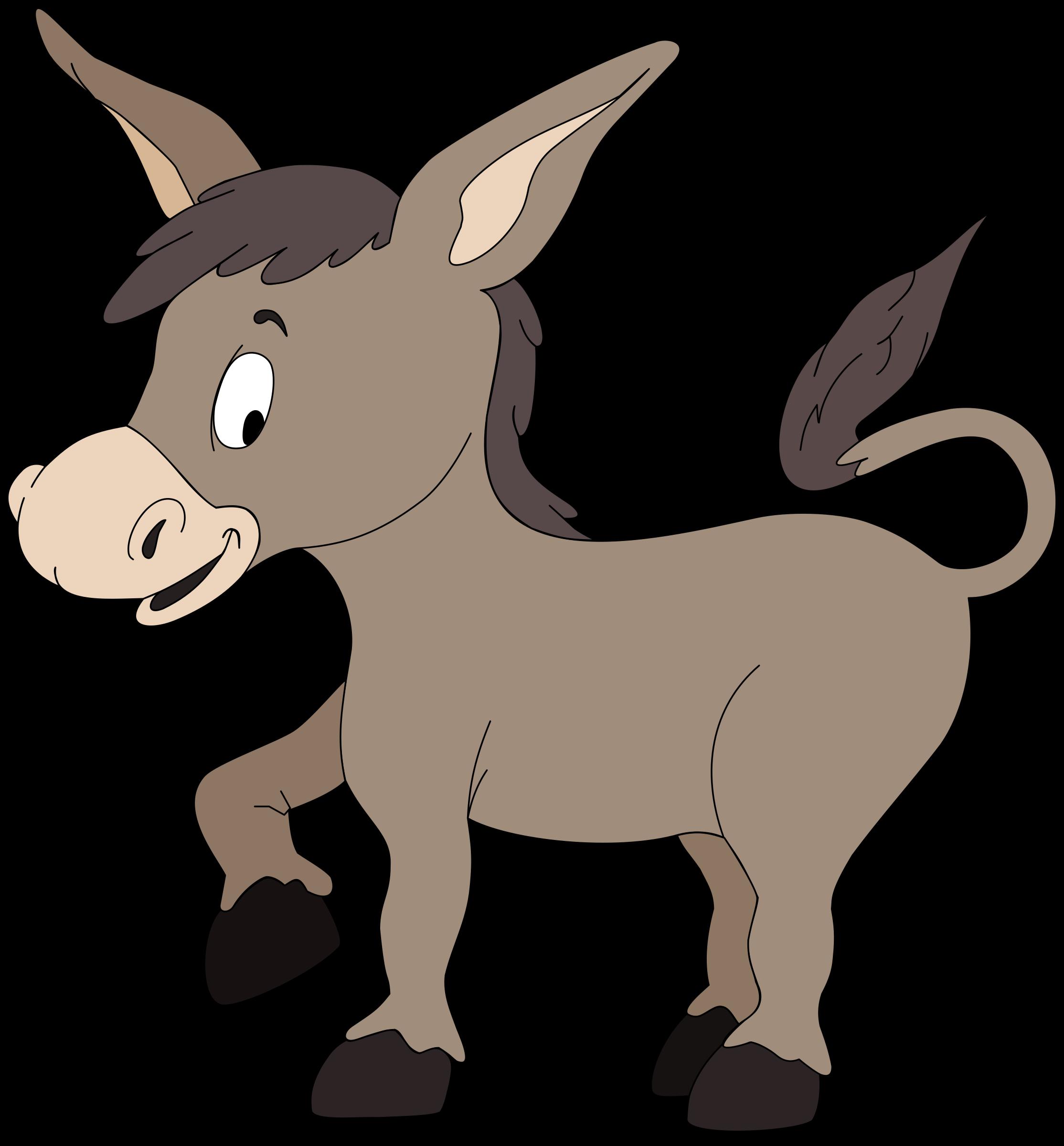 Clipart donkey