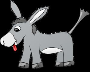 Donkey clip art at clker vector clip art