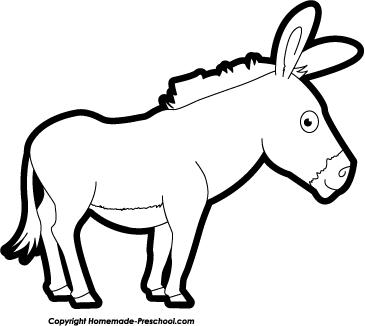 Donkey clip art co