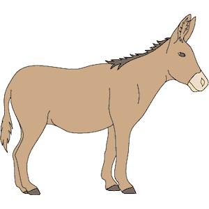 Donkey clipart 2