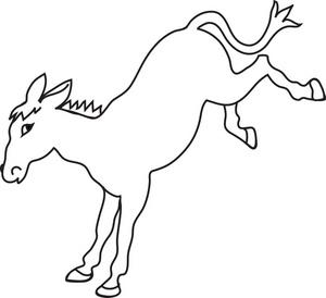 Donkey clipart free clipart 2