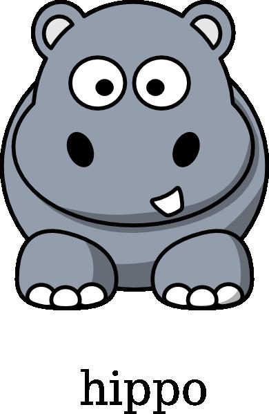 Hippo clip art at clker vector clip art free