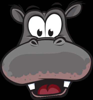 Hippo clip art co 2