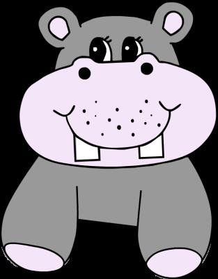 Hippo clip art co 4