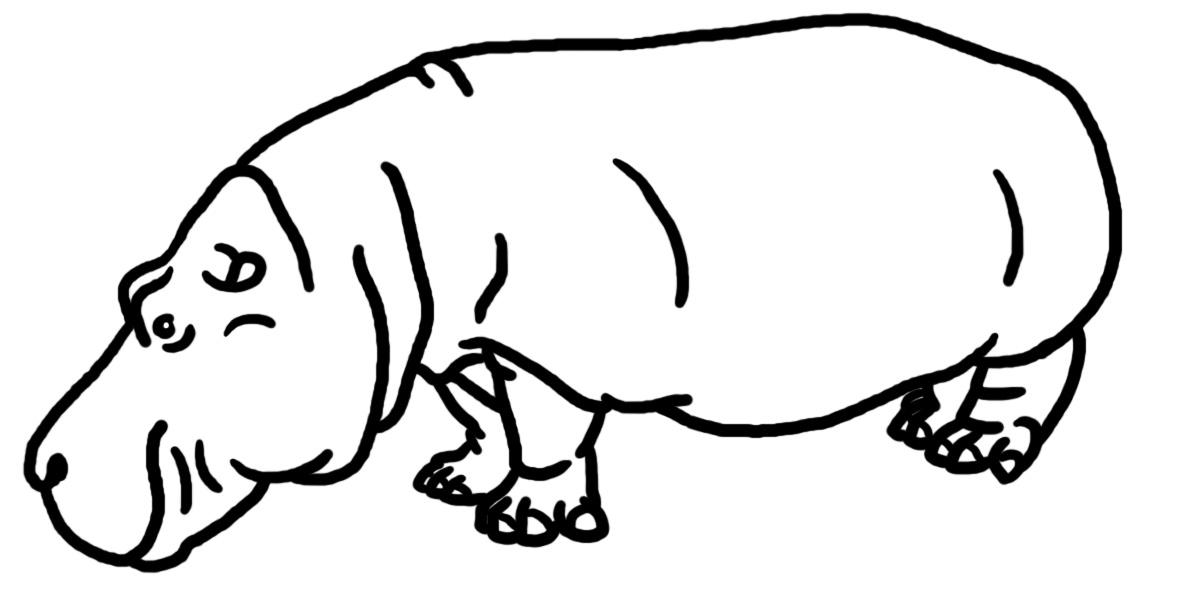 Hippo clip art co