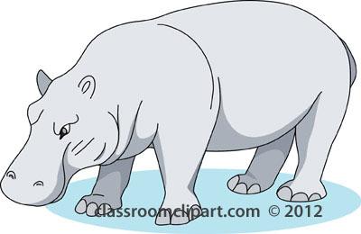 Hippo clipart hippopotamus 2 clipart