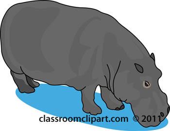 Hippo clipart hippopotamus clipart