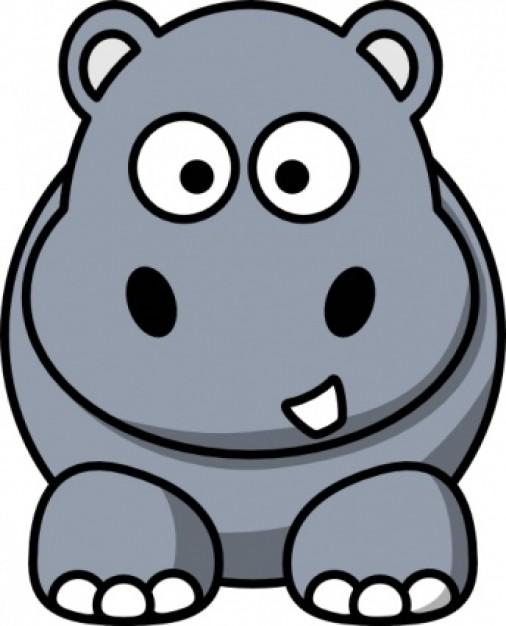 Hippopotamus clipart free clipart images 3