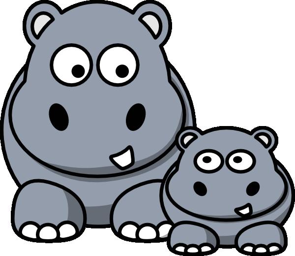 Hippopotamus clipart free clipart images 5