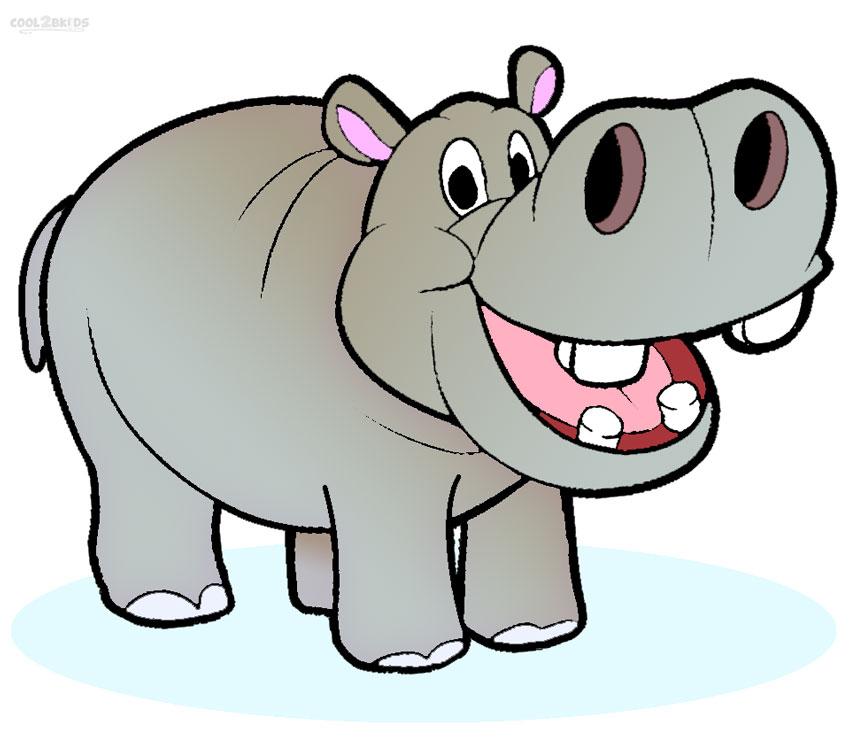 Hippopotamus clipart free clipart images