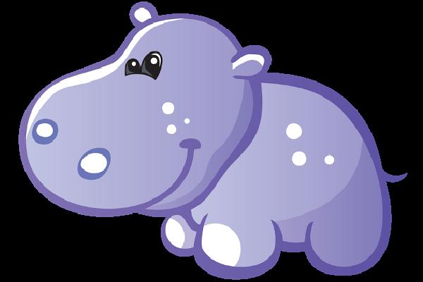 Hippopotamus image co clip art