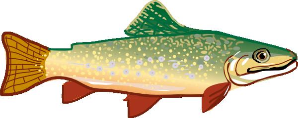 Trout clip art at clker vector clip art free