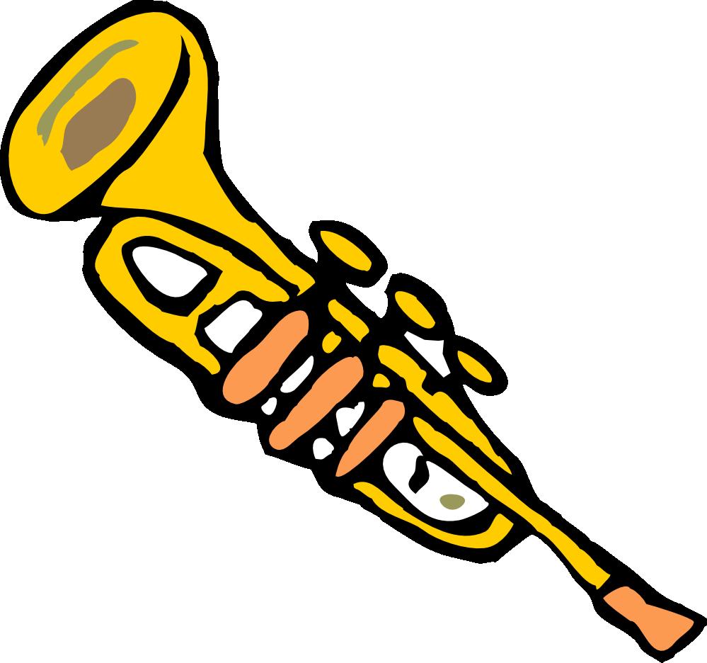 Trumpet clipart clipart