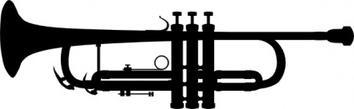 Trumpet free vectors deluxevectors clip art 2
