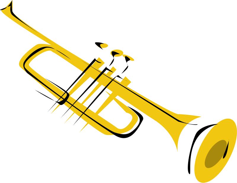 Trumpet notes clipart clipart kid 3