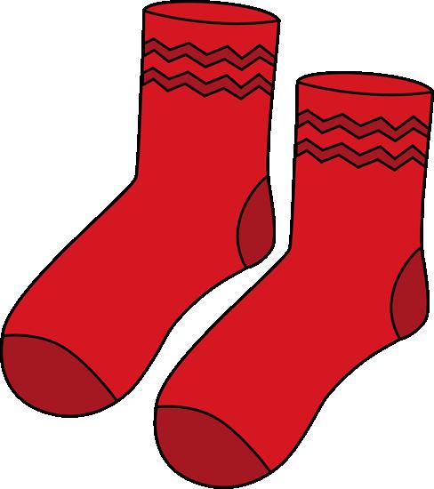 Clip art crazy socks clipart clipart kid 2