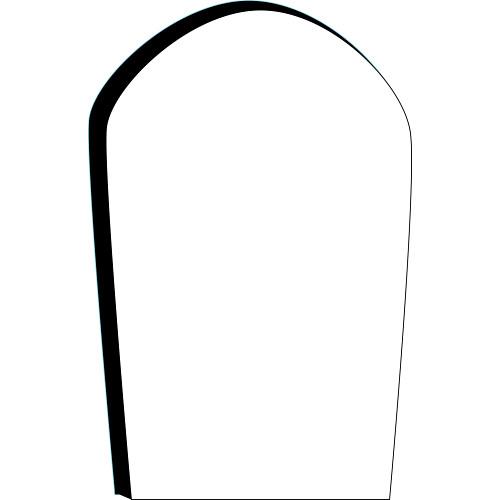 Headstone blank gravestone clipart