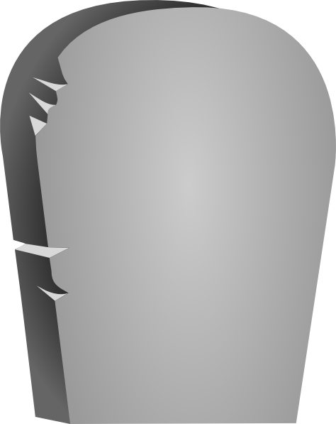 Headstone rounded tombstone clip art at clker vector clip art