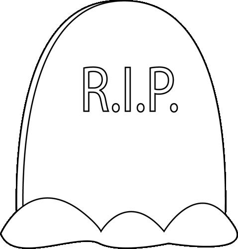 Headstone tombstone graphics co clip art