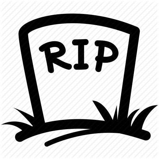 Rip headstone graveyard clipart rip clipart graveicon tv