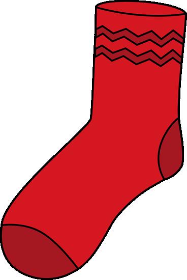Socks red sock clip art red sock image
