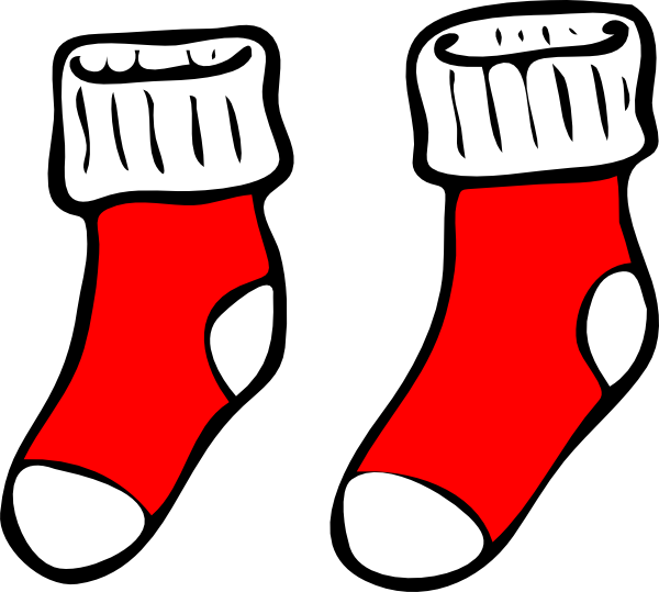 Socks sock clipart free clipart images