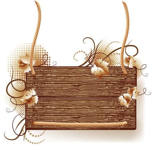 3 wood frame border clip art free vector 4vector 2