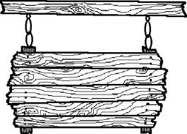 Cartoon wood clipart