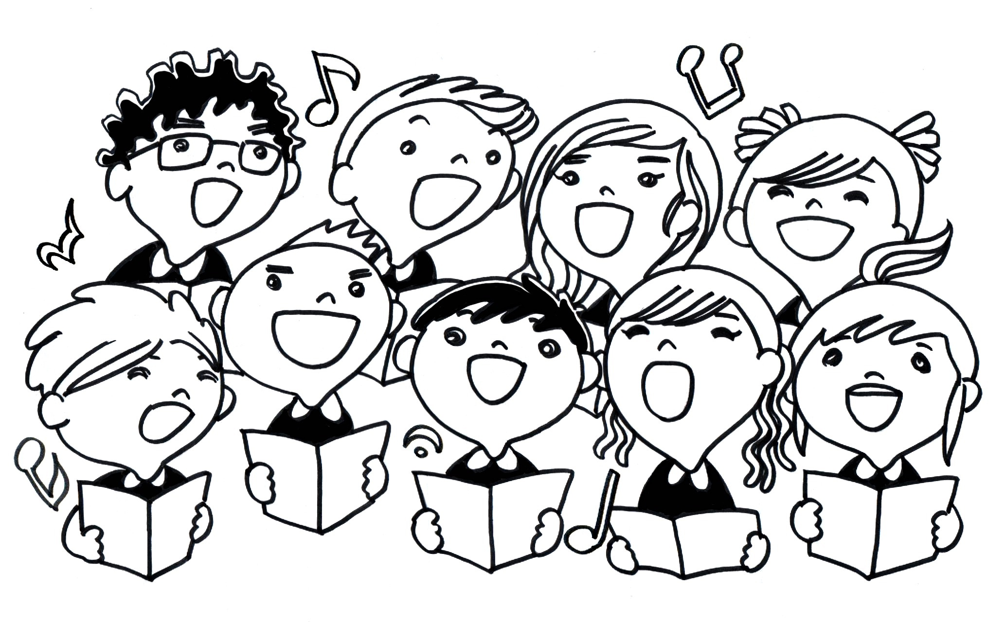 Choir clipart african american free clipart images