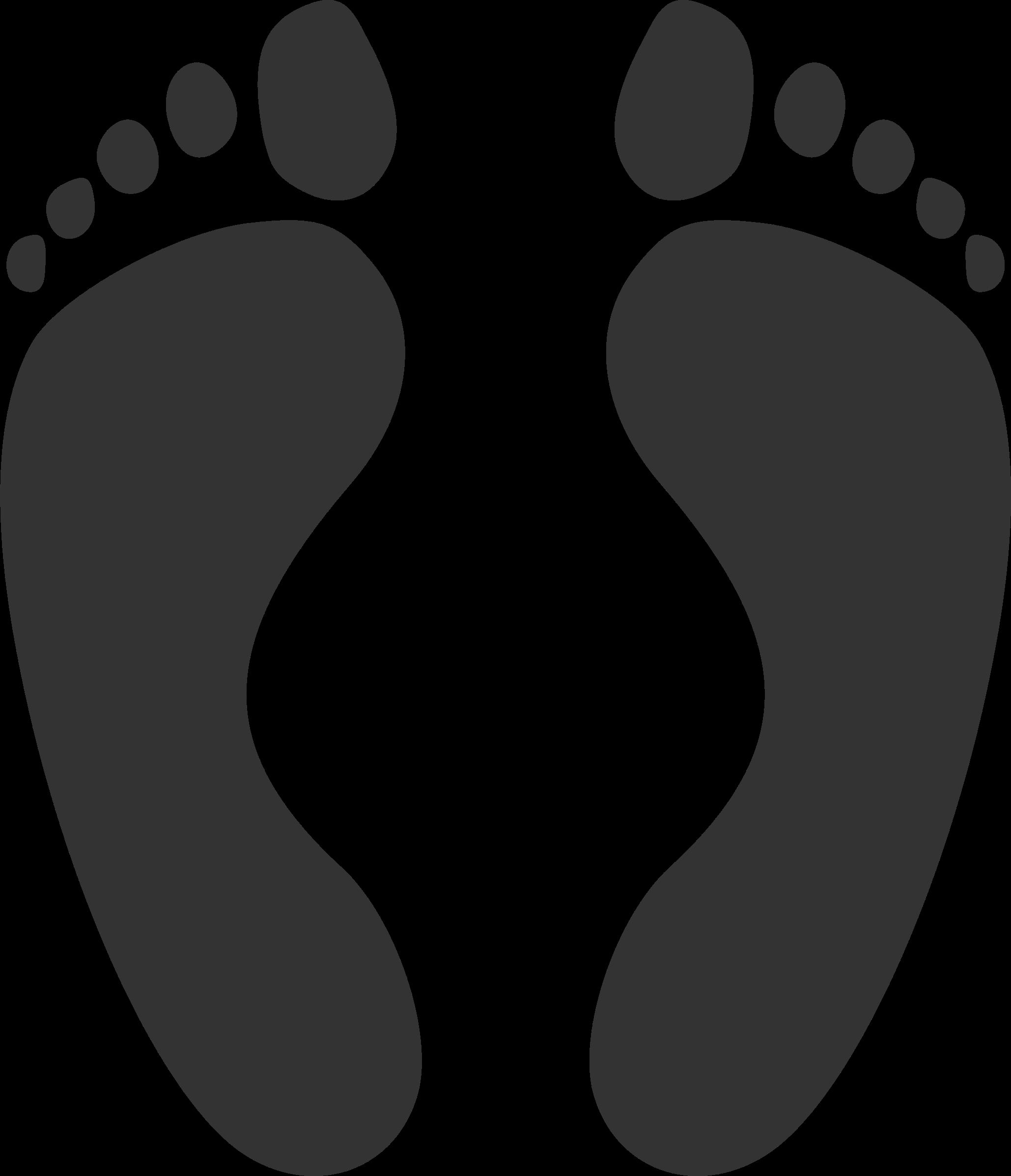 Clipart soles feet