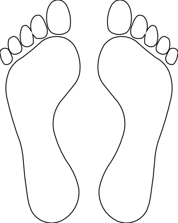 Feet clip art free clipart