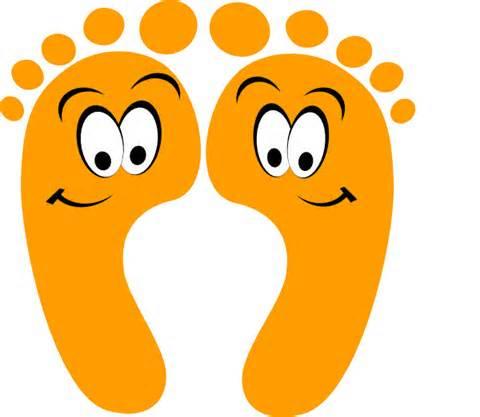 Feet clip art vector free public domain code clip