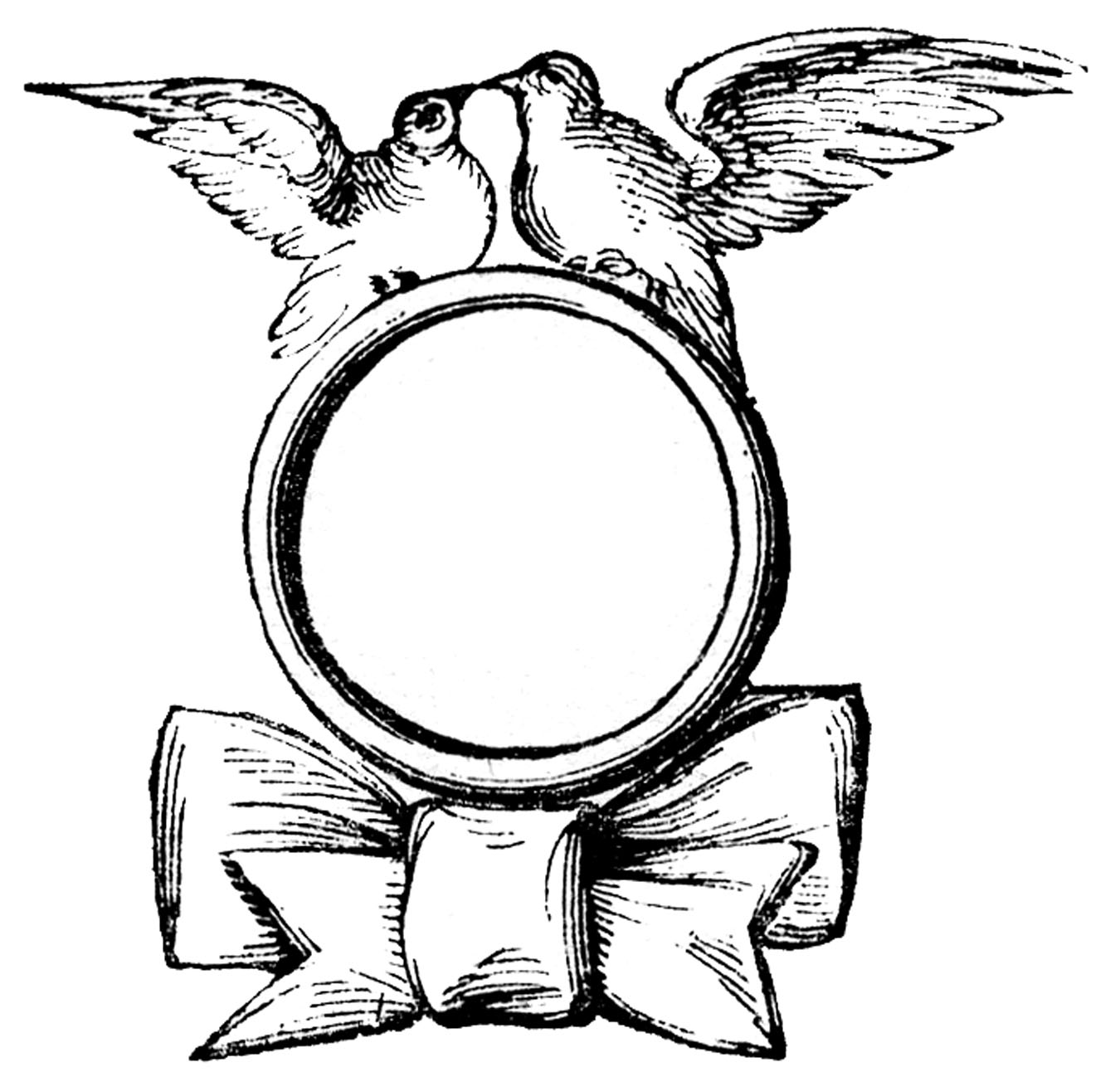 Wedding rings with cross clipart clipartix image #37919