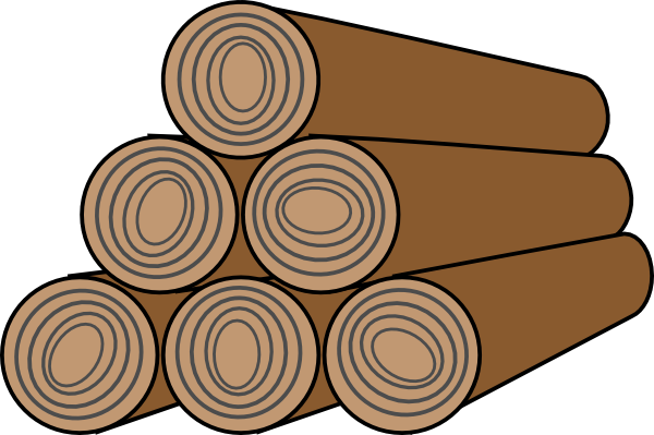 Wood lumber icon clip art at clker vector clip art