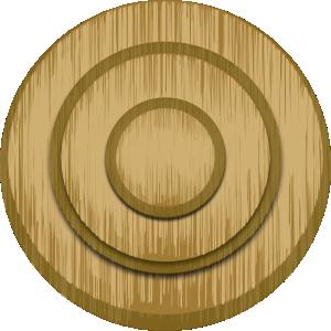 Wood target clip art at clker vector clip art