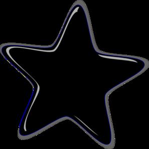 Black star clip art clipart
