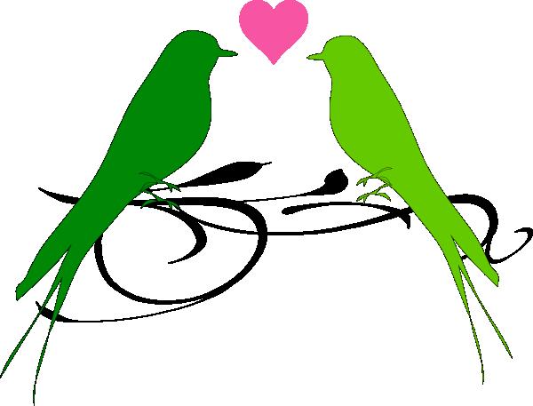 Clipart love birds clipart