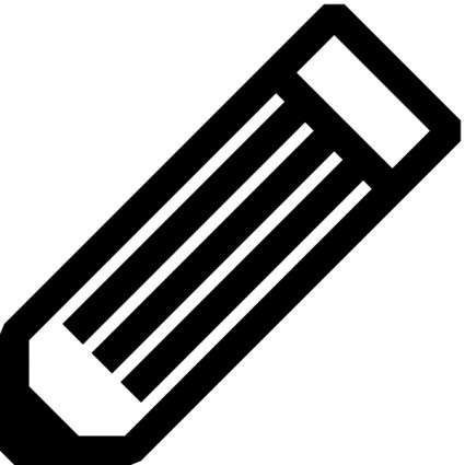 Free black and white pen clip art free vector for free download
