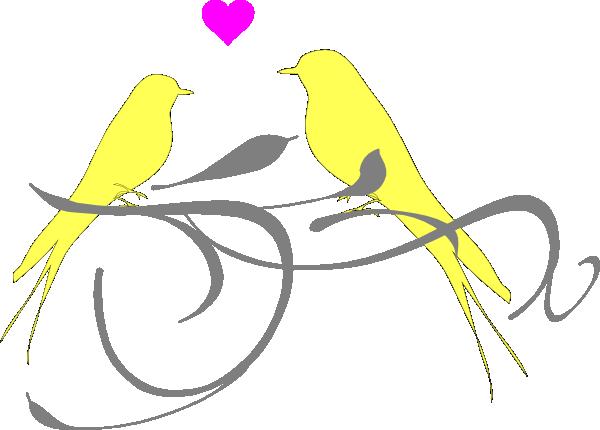 Love birds clip art vector clip art free