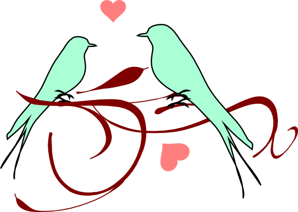 Love birds clipart wedding free clipart images 3