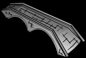 Stone bridge vector clip art free clipart images