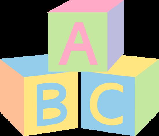 Abc blocks clipart co 3