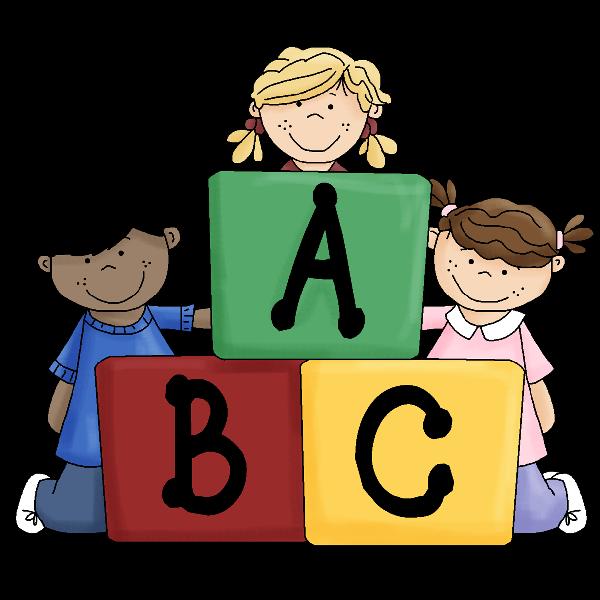 Abc school children funny baby images clip art