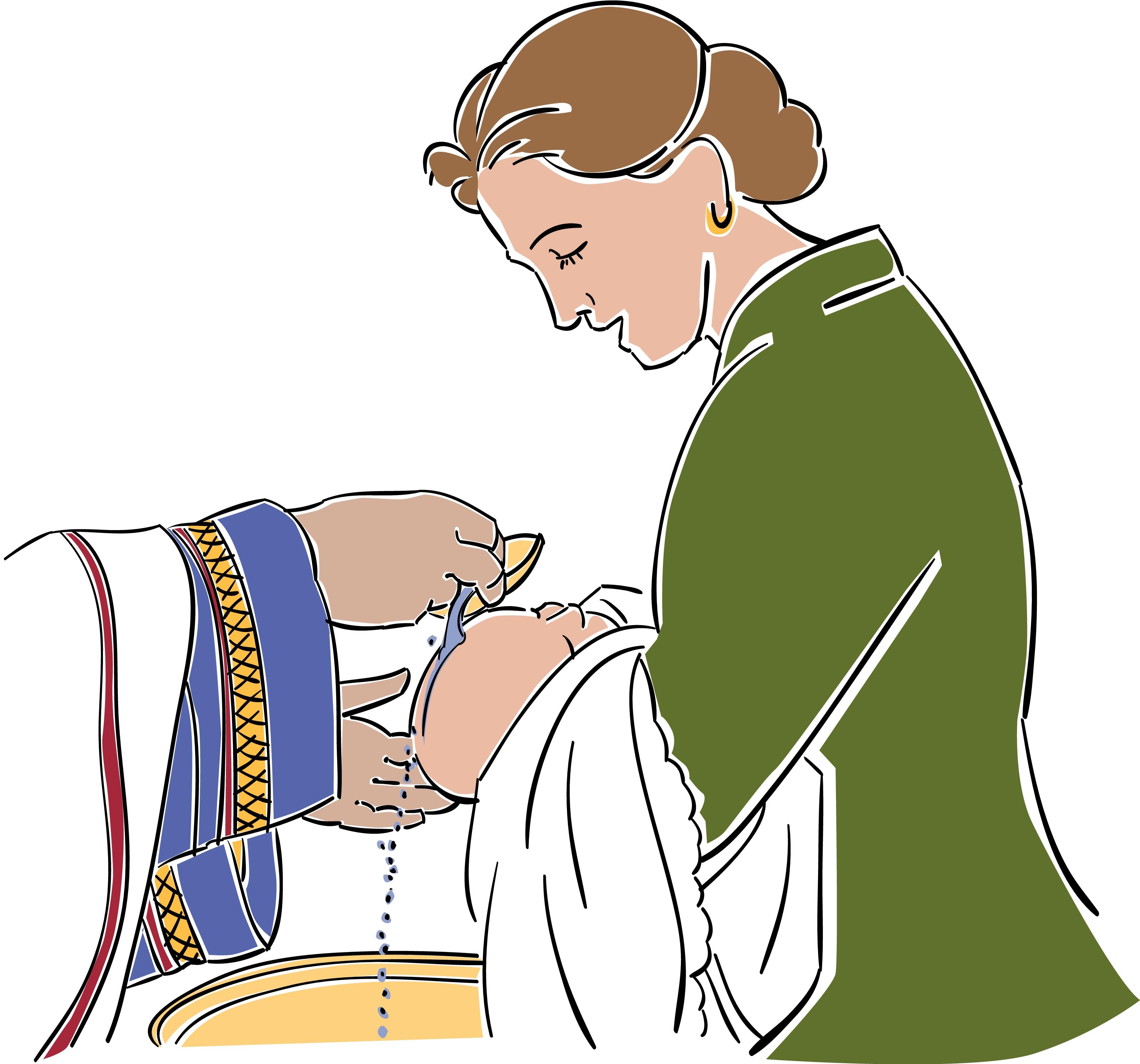 Baptism clip art free clipart 2