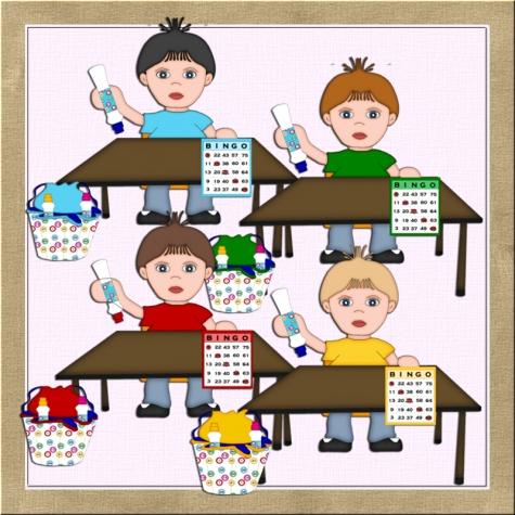 Bingo boys clip art 1 graphics shoppe