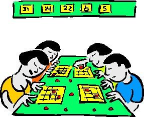 Bingo clip art 2 clipartix