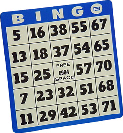 Bingo graphics and animated s bingo clip art