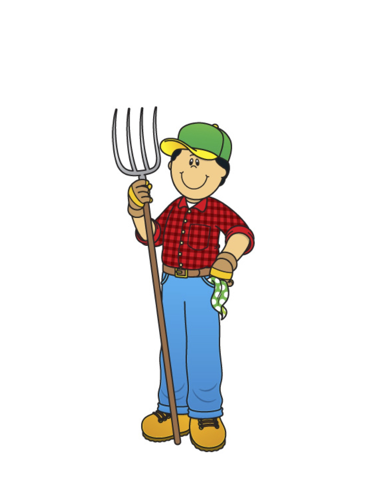 Farmer farm clipart free clipart images 4