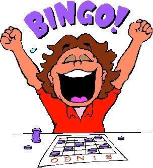 Free bingo winners clipart