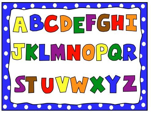 Image of alphabet letter clipart 0 abc alphabet letters free